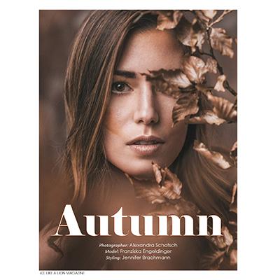 Strecke Like a Lion Magazine Autumn
